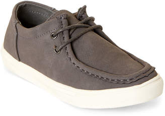 Steve Madden Kids Boys) Grey Gadwell Moccasin Sneakers