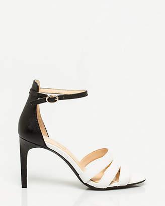 Le Château Nubuck Leather Ankle Strap Sandal