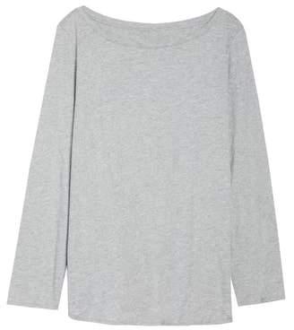 Eileen Fisher Long Sleeve Organic Cotton Tee