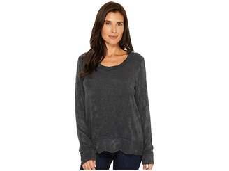 Mod-o-doc Chenille Sweater Knit Forward Seam Long Sleeve Sweater Women's Sweater