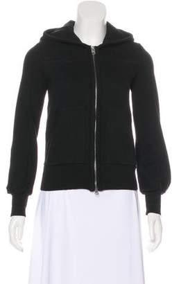 Sonia Rykiel Hooded Zip-Up Sweatshirt
