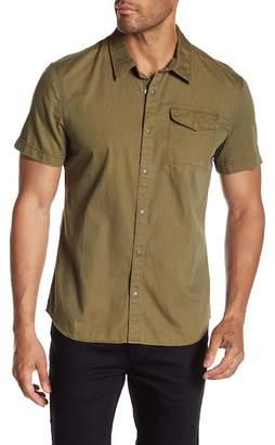 John Varvatos Cuff Short Sleeve Shirt