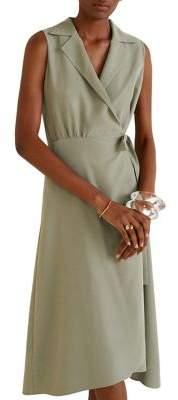 MANGO Bow Sleeveless Shirtdress