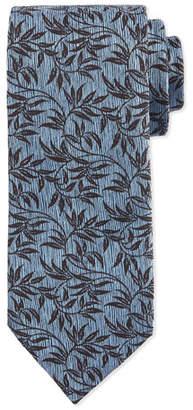 Ermenegildo Zegna Paisley-Vine Printed Silk Tie $205 thestylecure.com