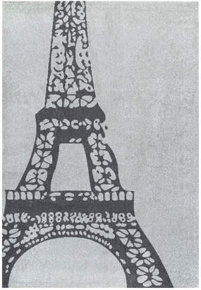 nuLoom Glennie Eiffel Machine-Made Synthetic Contemporary Rug