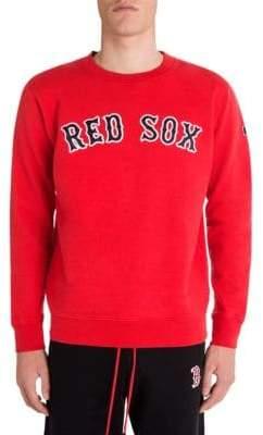 Marcelo Burlon County of Milan Red Sox Crewneck Sweatshirt