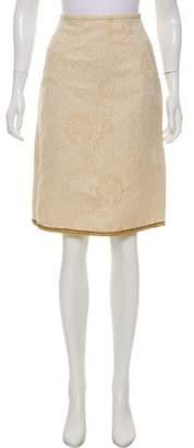 Behnaz Sarafpour Wool Knee-Length Skirt
