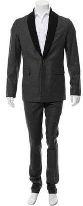 Kris Van Assche Marled Virgin Wool Suit w/ Tags