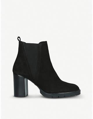 Aldo Galorevia suede heeled Chelsea boots