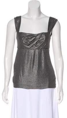 Iisli Sleeveless Metallic Top w/ Tags