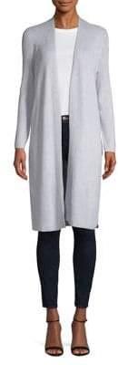Jones New York Long Sleeve Open-Front Cardigan