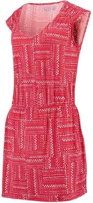 Unbranded Women's Sail Racing Red Georgia Bulldogs Gameday Pattern Dress