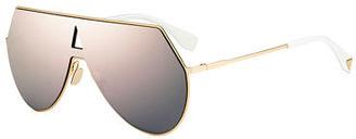 Eyeline Mitered Shield Sunglasses