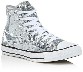 Converse Chuck taylor All Star Sequin High Top Sneakers