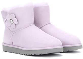 UGG Mini Bailey Poppy suede boots