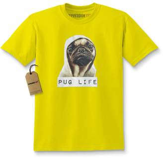 Expression Tees Kids Pug Life Gangsta T-Shirt