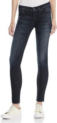 Rag & Bone Skinny Jeans in Black Rae