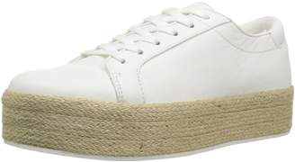 Kenneth Cole New York Women's Allyson Platform Lace up Jute Wrap-Techni-Cole Sneaker