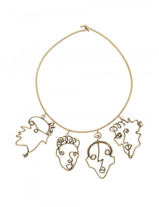 FOUR FACES NECKLACE