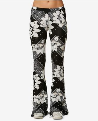 O'Neill Juniors' Kelli Printed Flared Pants
