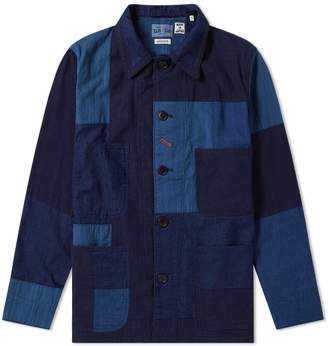 Blue Blue Japan Patchwork Coverall Jacket