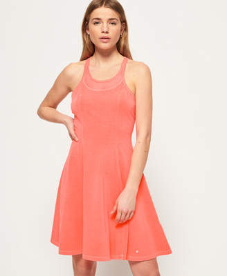 Superdry Mesh Yoke Dress