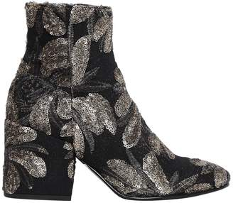 Strategia 70mm Sequined Ankle Boots