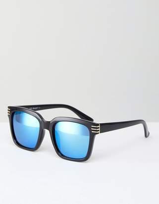 A. J. Morgan Aj Morgan Crux Square Sunglasses In Black