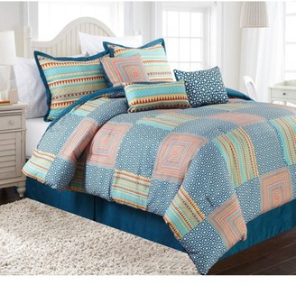Nanshing Amias 7-Piece Bedding Comforter Set, Queen