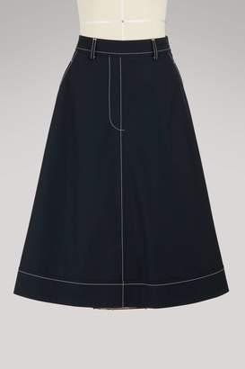 Thom Browne Optical illusion skirt