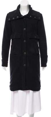 MM6 MAISON MARGIELA Collarless Knee-Length Coat