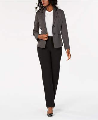 Le Suit Printed Jacket Pantsuit