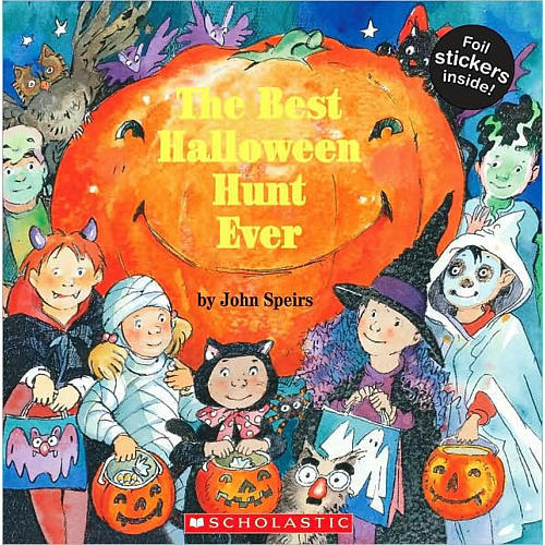 Scholastic The Best Halloween Hunt Ever Book