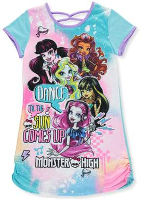 Komar Kids Monster High Little & Big Girls Nightgown