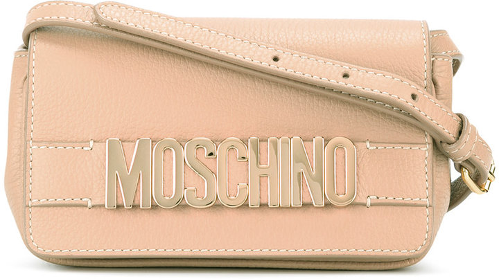 Moschino Moschino branded cross body bag