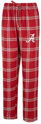Concepts Sport Men Alabama Crimson Tide Homestretch Flannel Pajama Pants
