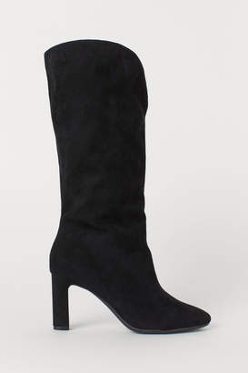 H&M Calf-length Boots - Black