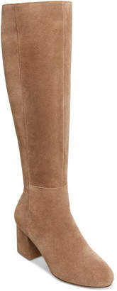 Steve Madden Women Hero 50/50 Block-Heel Boots