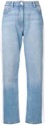 Kenzo side-stripe jeans