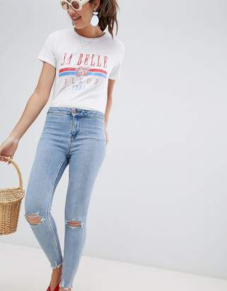 New Look high waist super skinny jeans