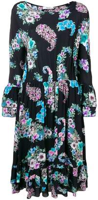 Blugirl floral print flared dress