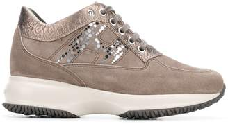 Hogan embellished H sneakers
