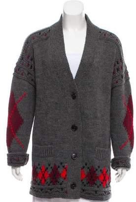 Isabel Marant Patterned Wool Cardigan