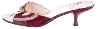 Christian Dior Diorissimo Slide Sandals