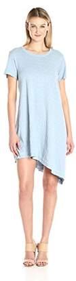 Wilt Women's Raw Slant Hem Trapeze Dress