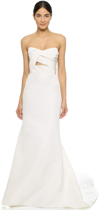 J. Mendel Adelaide Strapless Bustier Gown $4,400 thestylecure.com