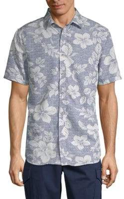 Saks Fifth Avenue Printed Button-Down Shirt