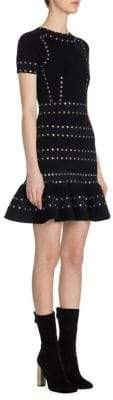 Alexander McQueen Rivet Chenile Dress
