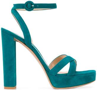 Gianvito Rossi Poppy platform sandals