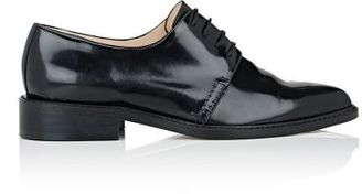 Barneys New York Women's Pointed-Toe Oxfords-BLACK $295 thestylecure.com